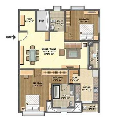 lodha meridian apartment 2bhk 1440sqft 20202619162641