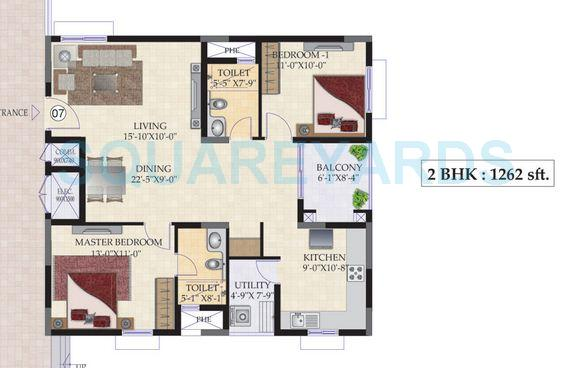 mahindra lifespaces ashvita apartment 2bhk 1262sqft1