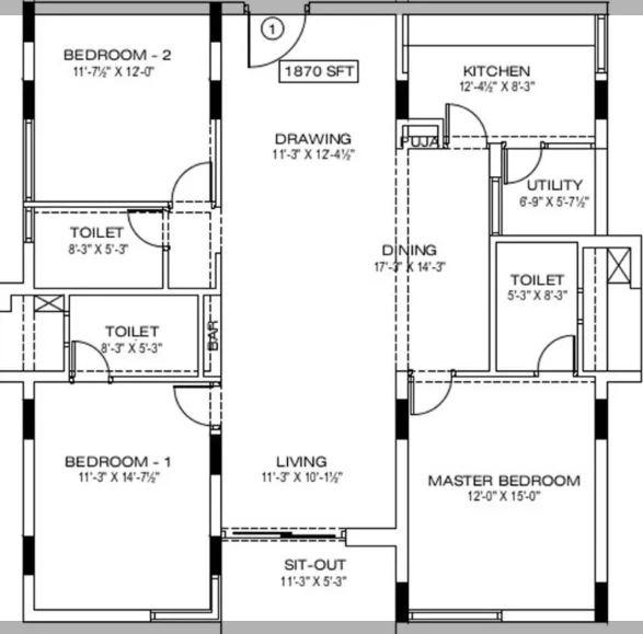 manbhum around the grove apartment 3bhk 1870sqft51