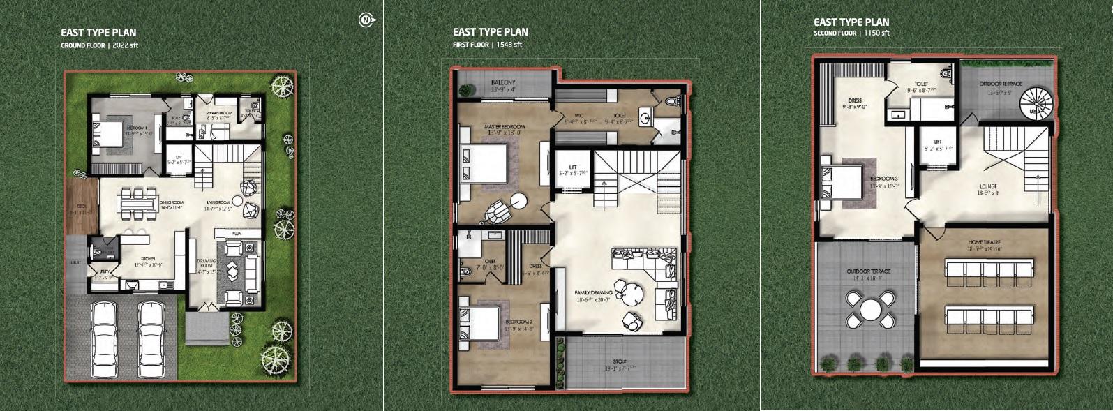 northstar allura villa 4bhk 4715sqft11