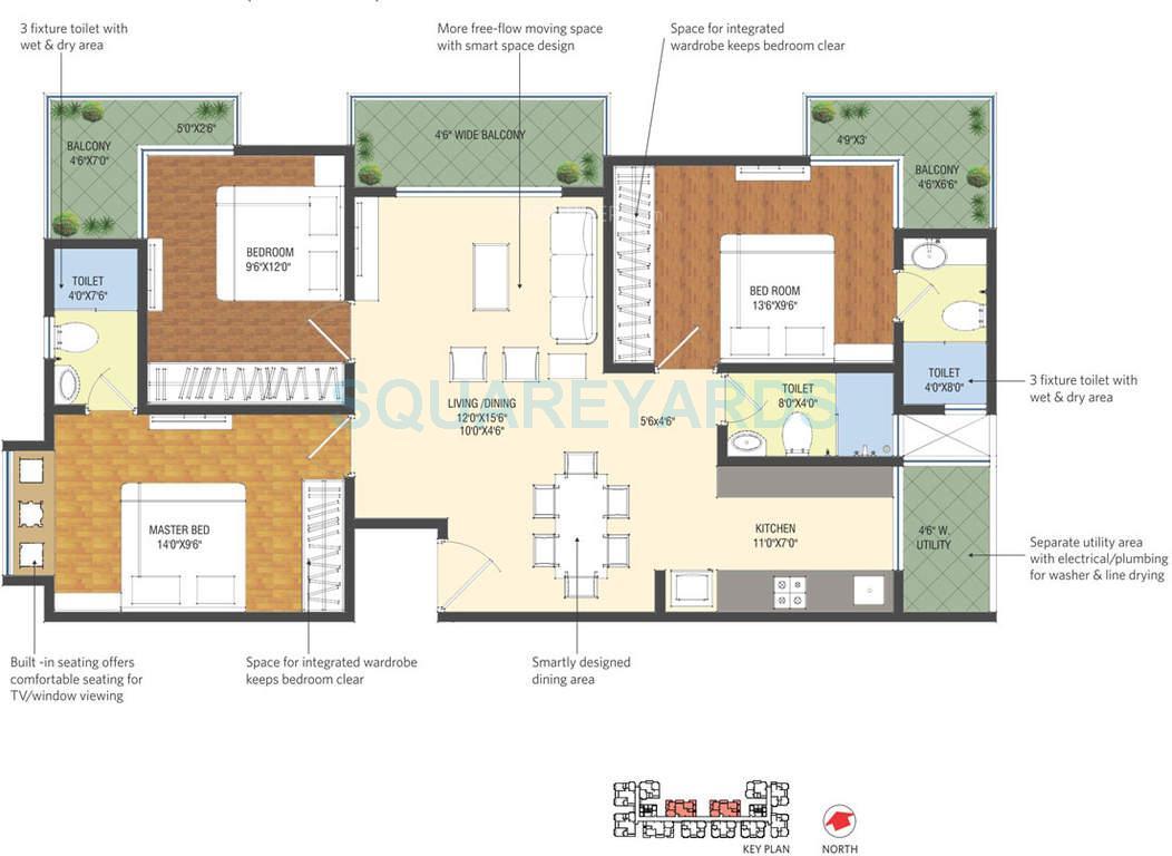 patel smondo apartment 3bhk 1435sqft1