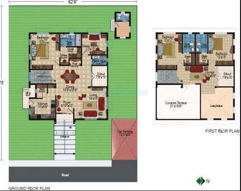 prajay prajay celebrity villas villa 4bhk 4250sqft 1