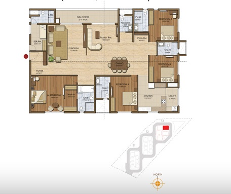 prestige ivy league apartment 4bhk 3147sqft 20202720072704