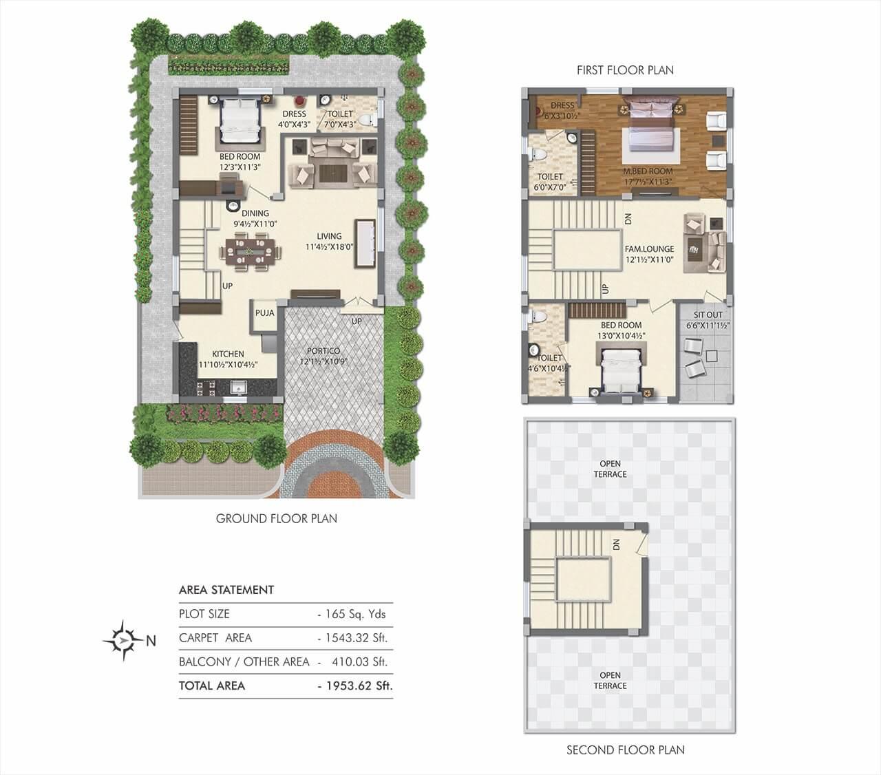 prima paradisoo apartment 3bhk 1953sqft 1