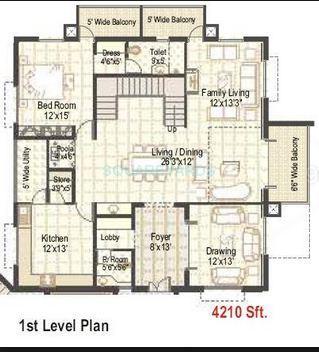 ramky towers apartment 4bhk 4210sqft 1