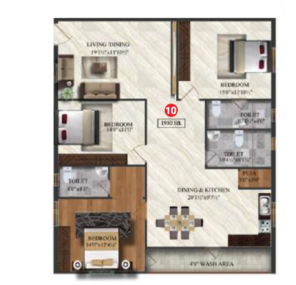 sterling orchids apartment 3 bhk 1950sqft 20211004111025