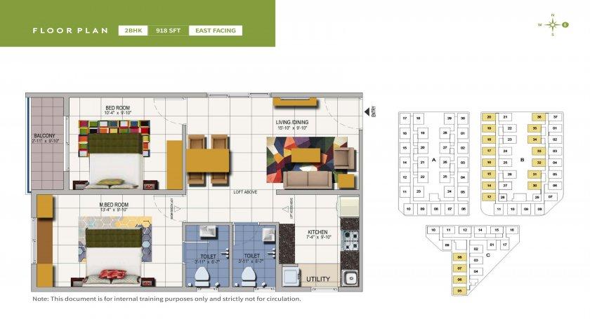 urbanrise spring is in the air apartment 2 bhk 918sqft 20205623115647