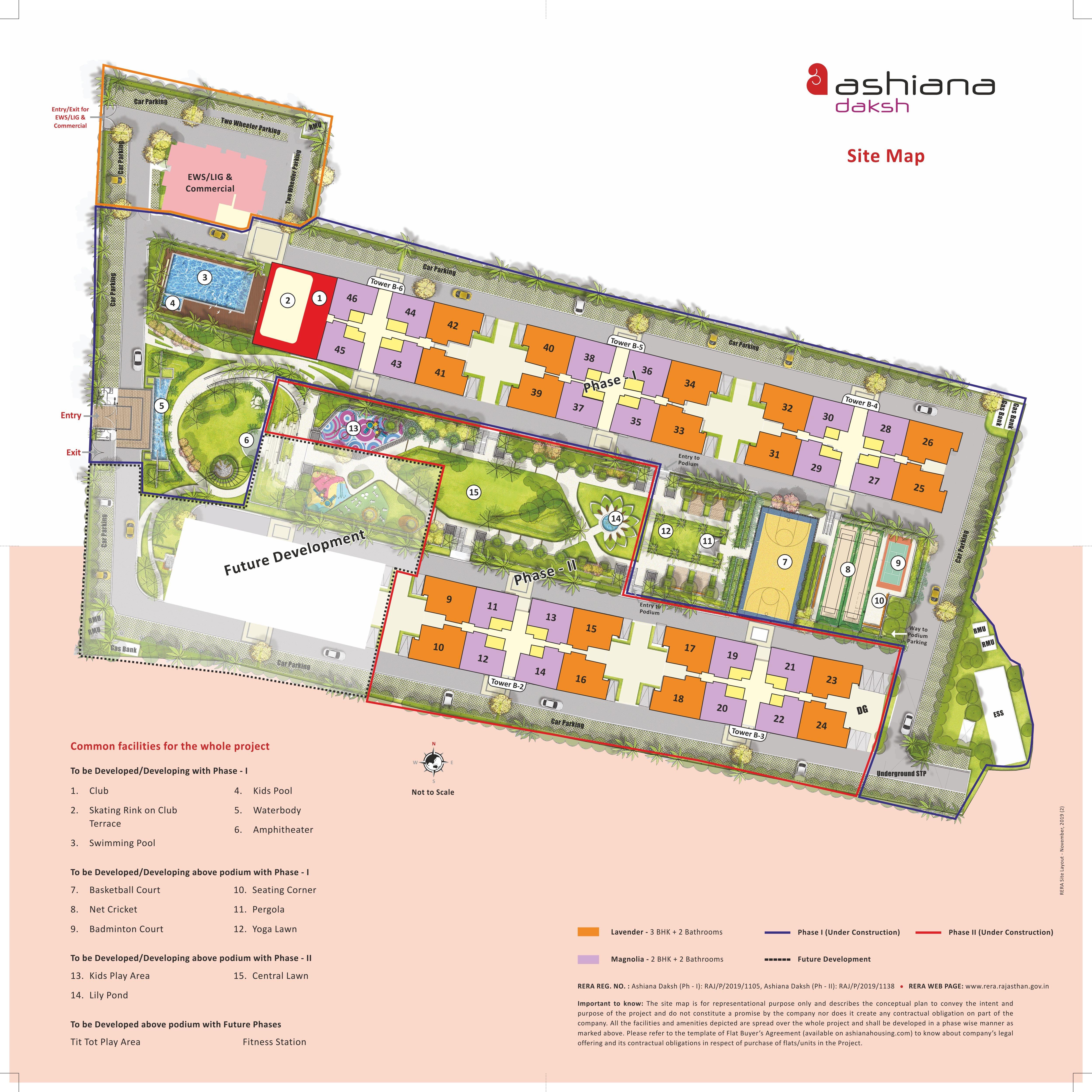 ashiana daksh phase 1 project master plan image1
