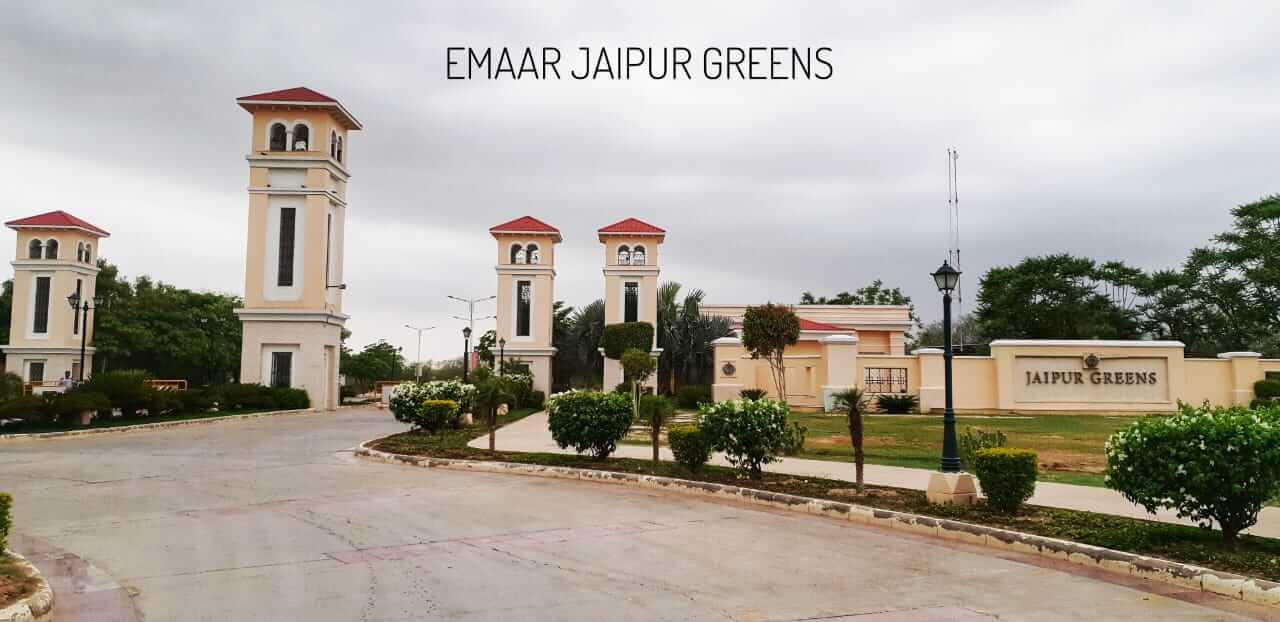 emaar jaipur greens entrance view1