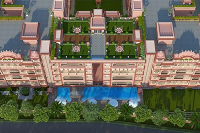 fs realty jaypore project tower view1