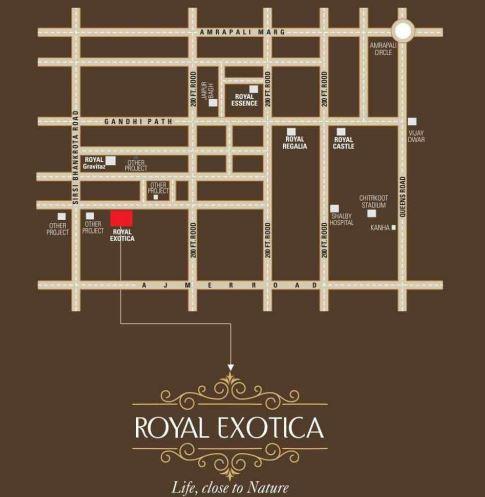 gangaa kotecha royal exotica  project location image1