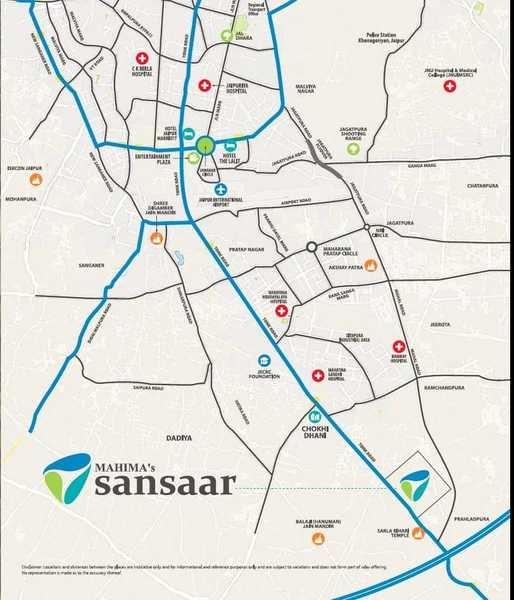 mahima sansaar project location image1