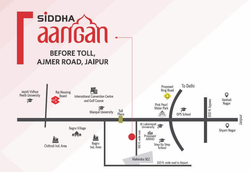 siddha aangan location image1