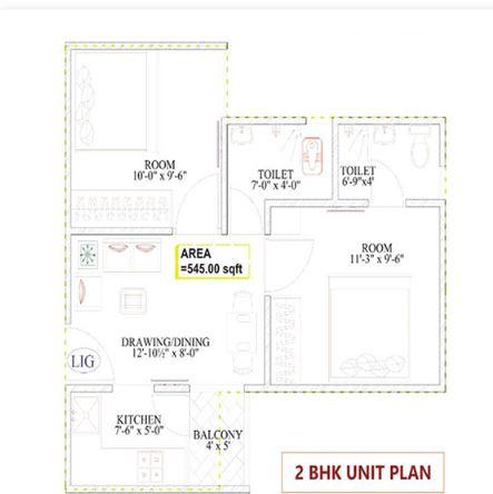 chordia ghar aangan apartment 2bhk 545sqft21