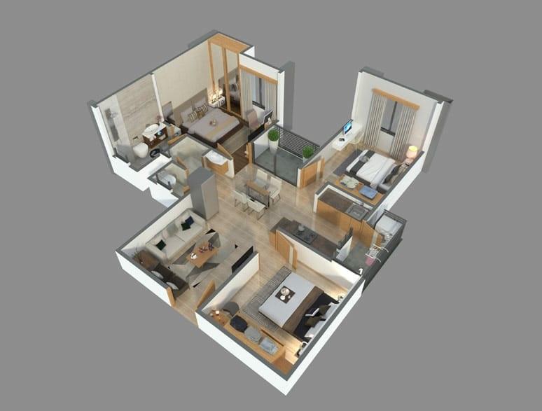 chordia utsav apartment 3bhk 1006sqft11