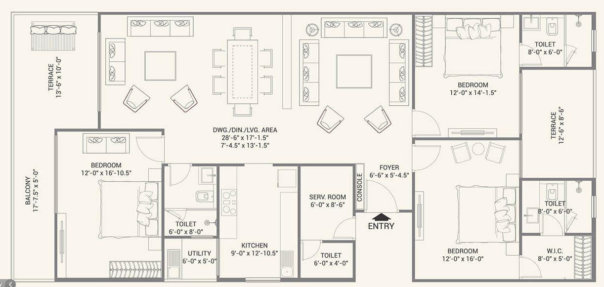 fs realty jaypore apartment 3 bhk 1601sqft 20203326163332