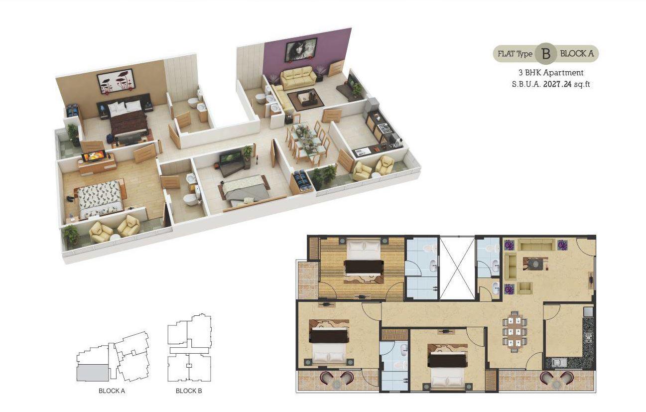 guman eternity apartment 3bhk 2027sqft81