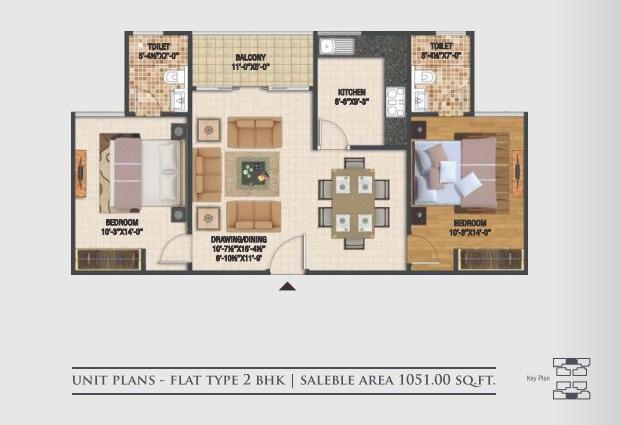 macro harsh the coronation apartment 2 bhk 1051sqft 20200806160803