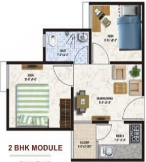 mojika laxmi vihar apartment 2 bhk 441sqft 20205023105001