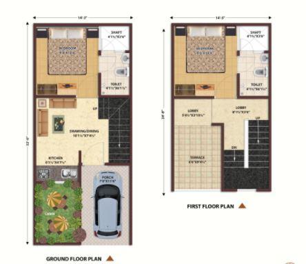 nandan prime villas villa 2 bhk 612sqft 20201505201551