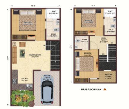 nandan prime villas villa 3 bhk 1181sqft 20201705201707