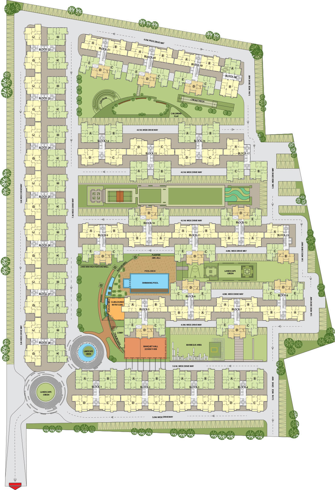 dtc southern heights master plan image1