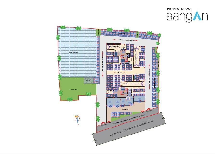 primarc shrachi aangan master plan image1