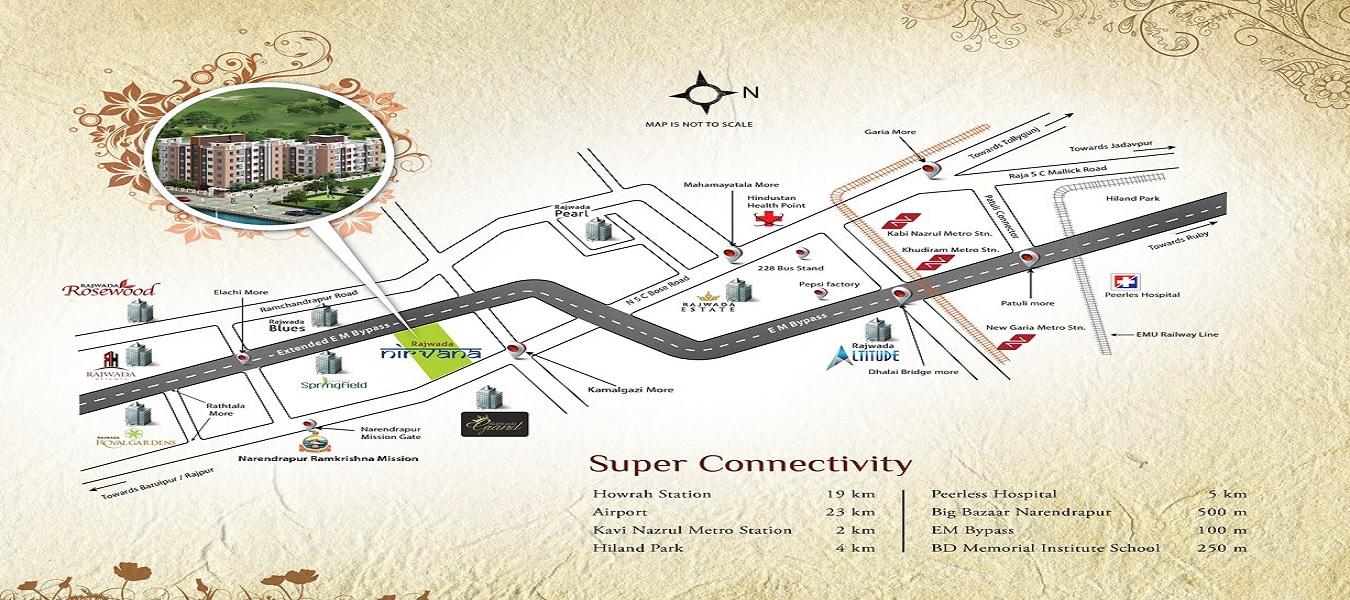 rajwada nirvana project location image1