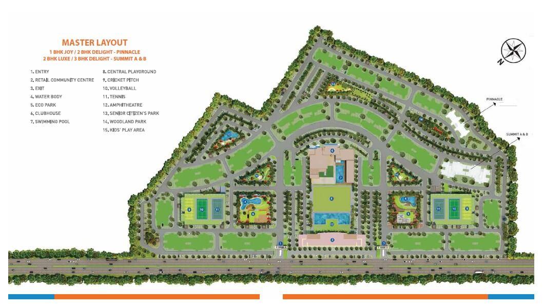 shapoorji pallonji joyville kolkata master plan image1