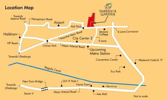 shrestha garden phase iii location image1
