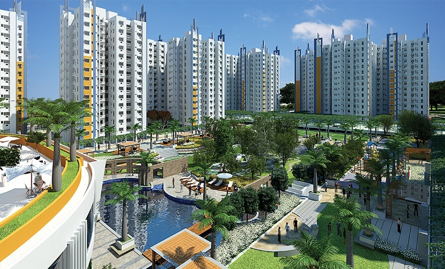 shriram grand one tower view1
