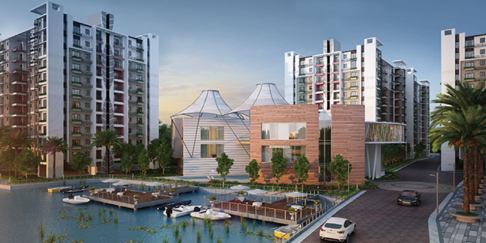 siddha water front project large image1