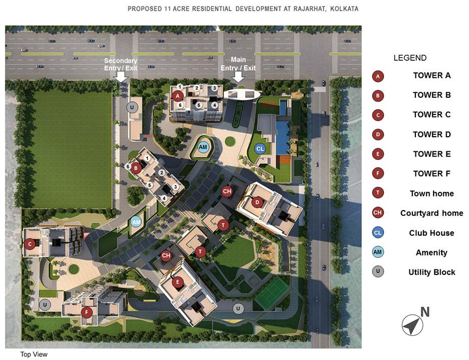 tata avenida master plan image1