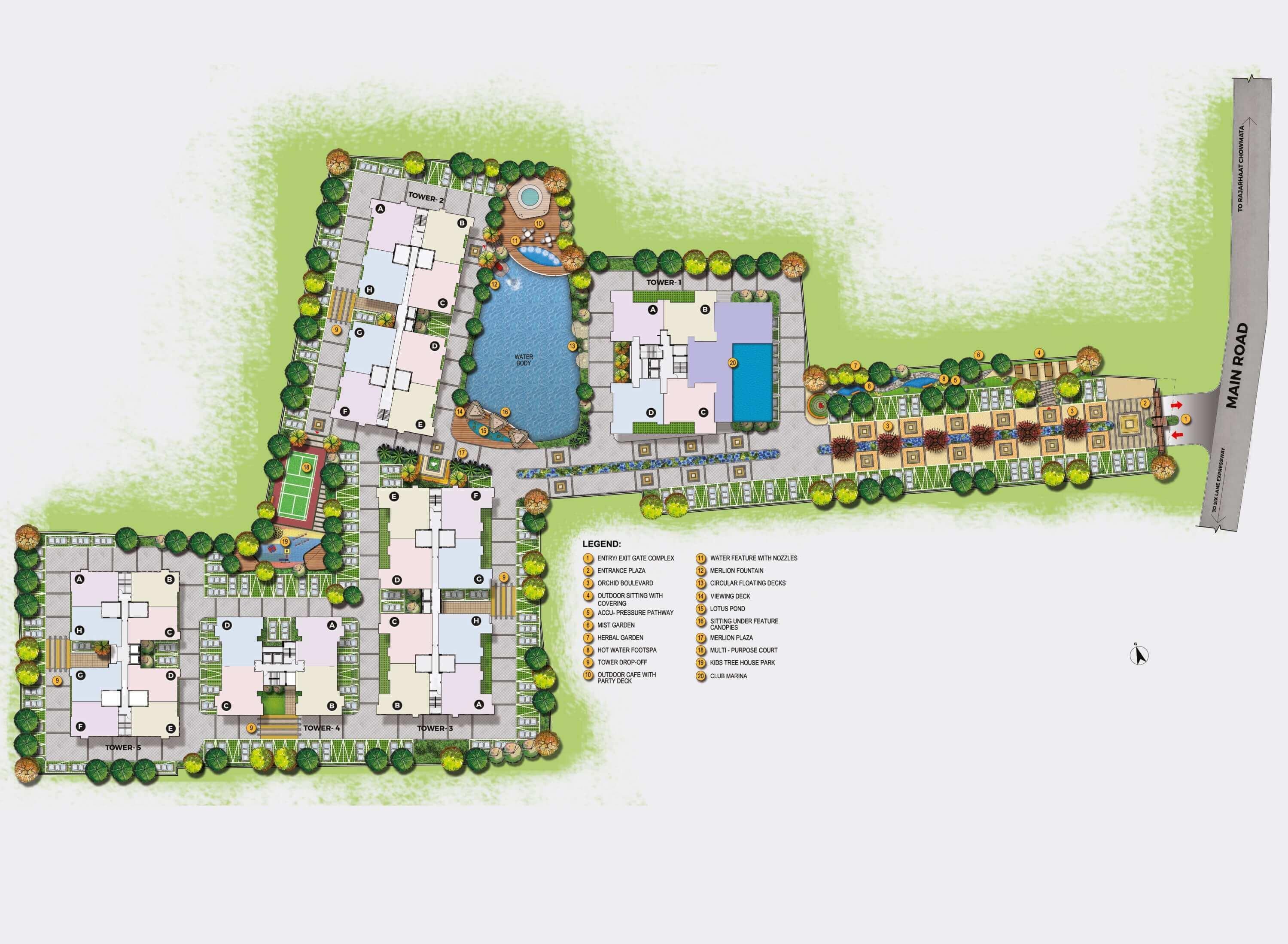 unimark merlion master plan image1