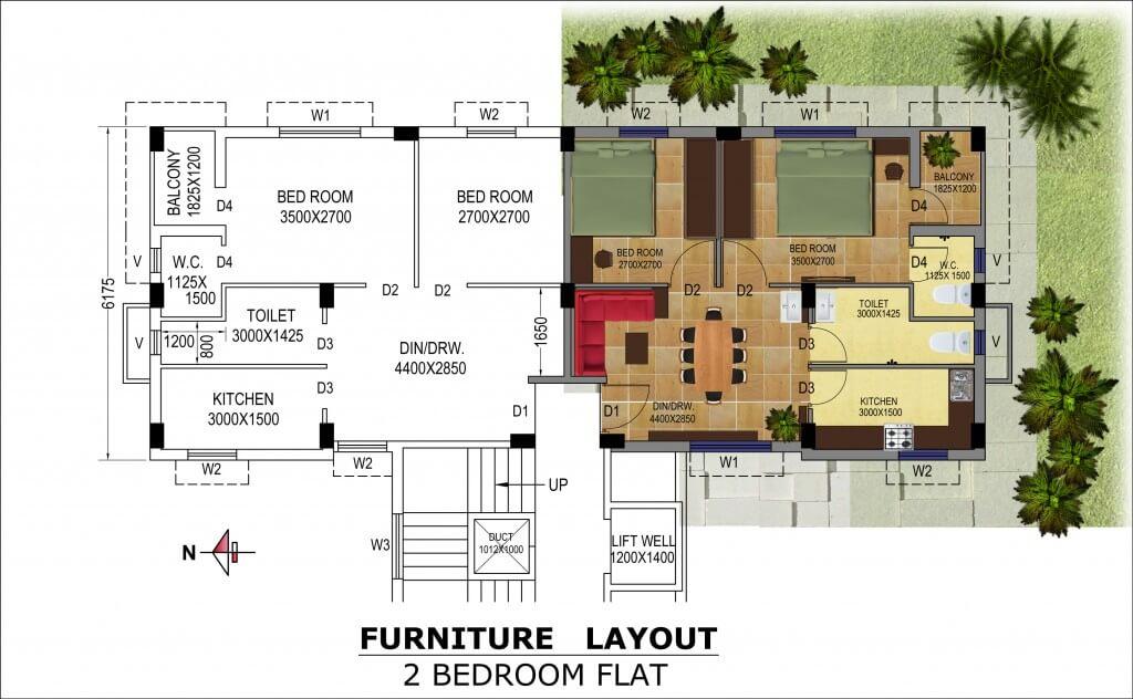 bga amrita abashan iii apartment 2bhk 680sqft 1