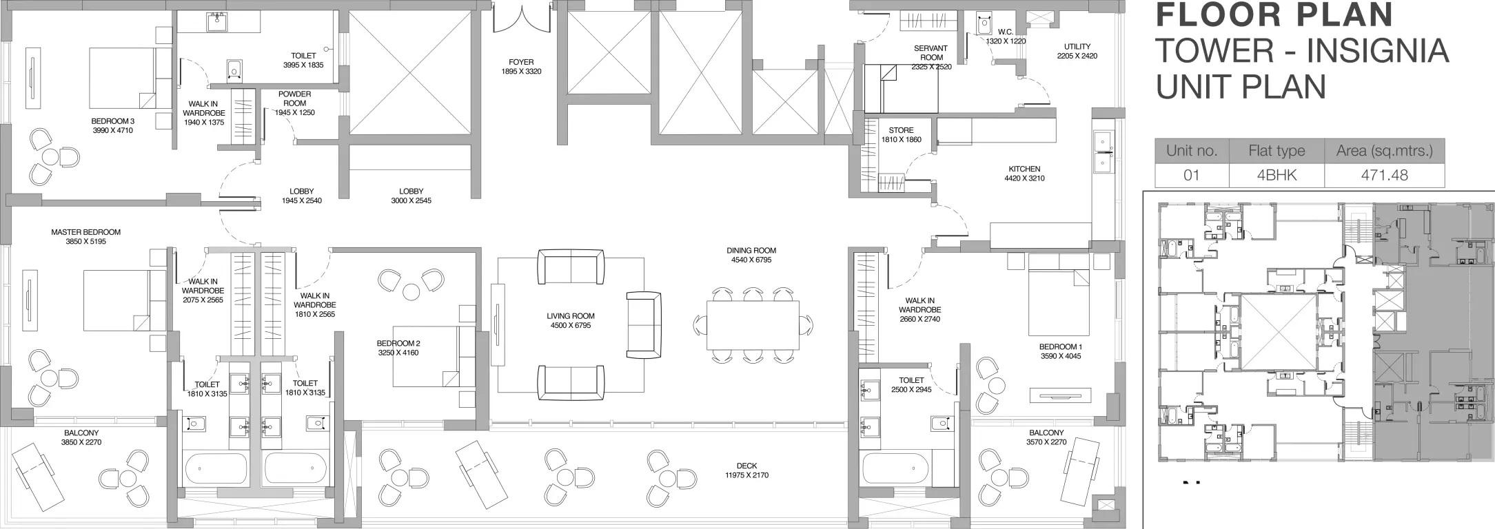 godrej platinum apartment 4bhk 5075sqft21