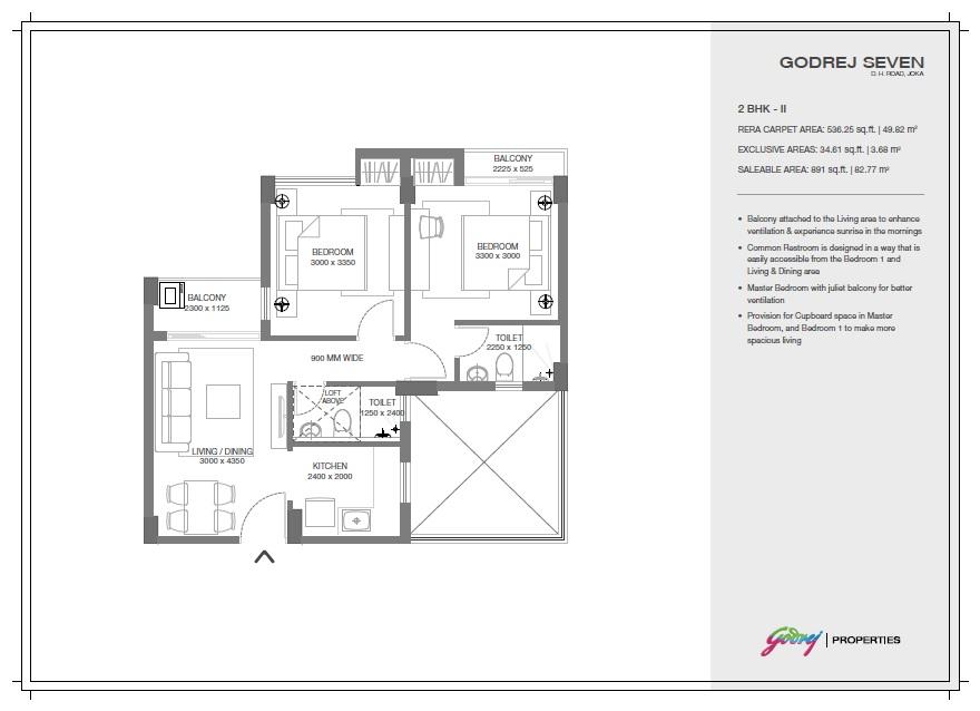 godrej seven apartment 2 bhk 891sqft 20204128154153