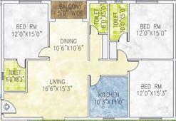jain dream one apartment 3bhk 2270sqft 1