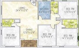 jain dream one apartment 4bhk 2280sqft 1