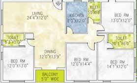 jain dream one apartment 4bhk 2720sqft 1