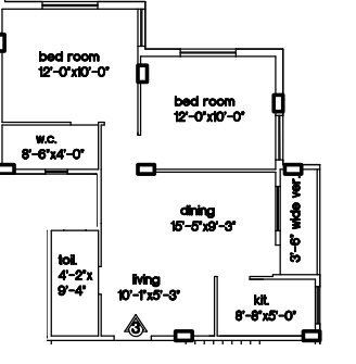 loharuka green residency apartment 2bhk 787sqft