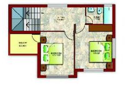 merlin greens villa villa 2bhk 950sqft