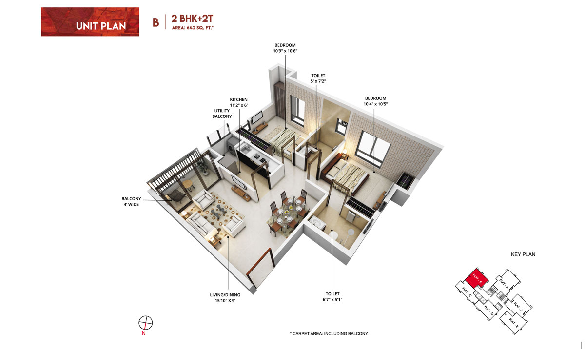 rishi pranaya phase i apartment 2bhk 954sqft51
