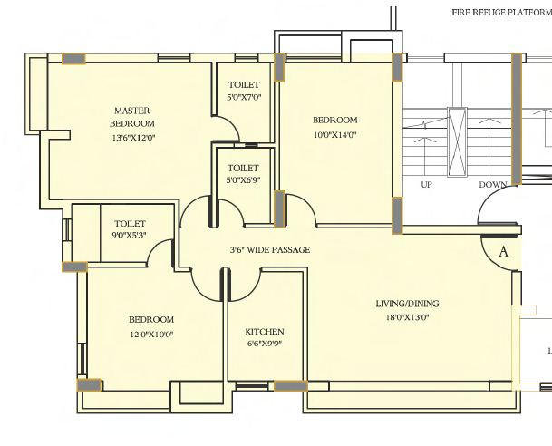 shivam astera apartment 3bhk 1634sqft 1