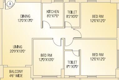 shivom utopia apartment 3bhk 1373sqft 1