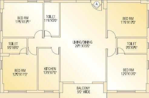 shivom utopia apartment 4bhk 2161sqft 1