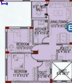 space club town gateway apartment 2bhk 1036sqft