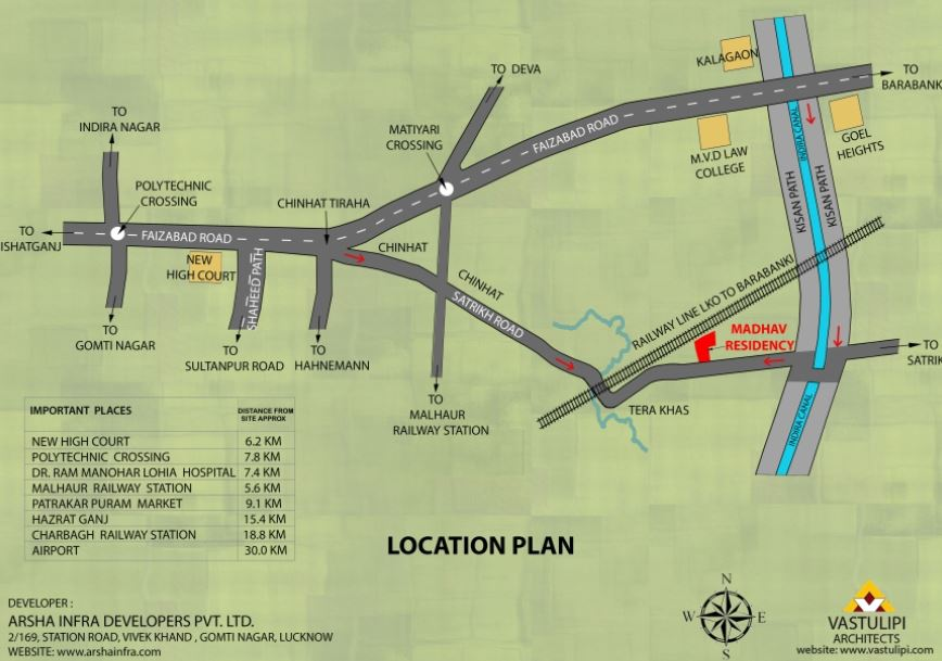 madhav residency location image1