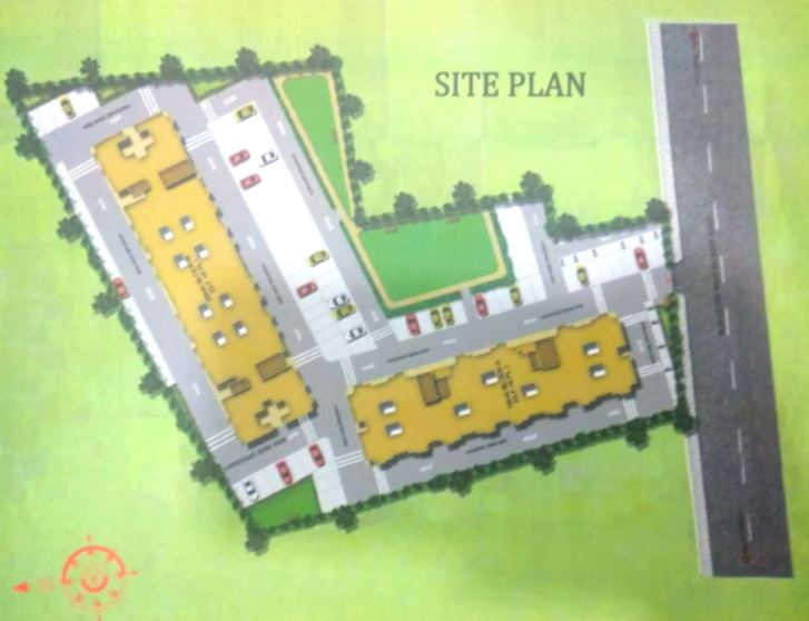 madhav residency master plan image1