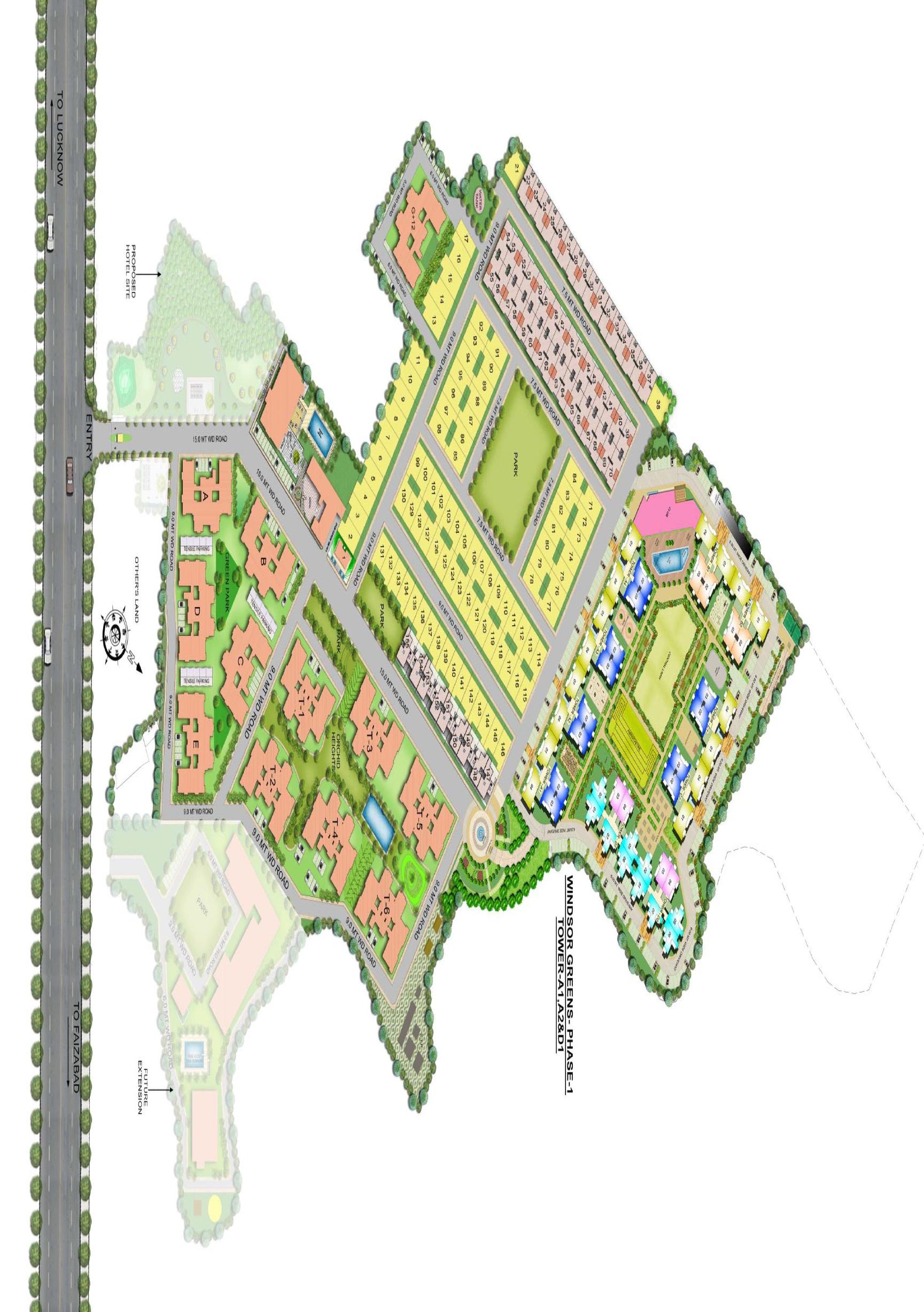 omega windsor greens master plan image5